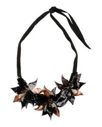 INTROPIA - Black Sequin Necklace - Lyst