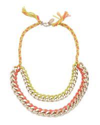 Liu Jo | Metallic Necklace | Lyst