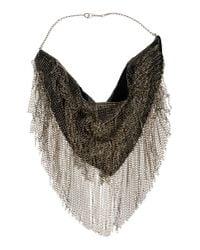 Isabel Marant | Black Necklace | Lyst