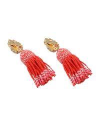 Shourouk - Red Earrings - Lyst