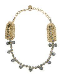 Pinko | Metallic Necklace | Lyst