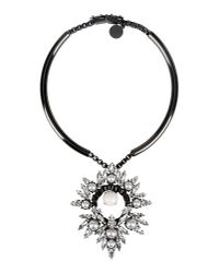 Ellen Conde - Black Necklace - Lyst