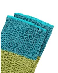 Gallo - Green Short Socks - Lyst