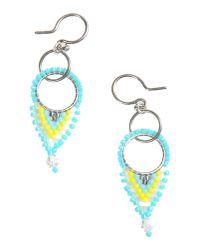 Chan Luu | Blue Earrings | Lyst
