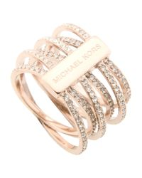 Michael Kors | Metallic Ring | Lyst