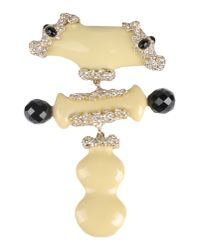 Christian Lacroix - Natural Brooch - Lyst