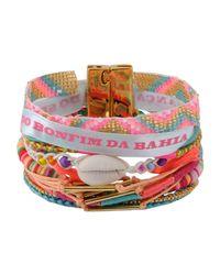 Hipanema - Pink Bracelet - Lyst