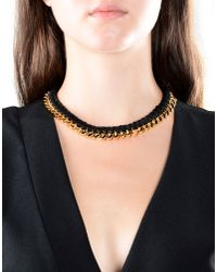 Aurelie Bidermann - Black Necklace - Lyst