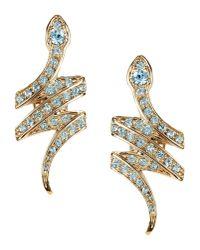Roberto Cavalli - Blue Earrings - Lyst