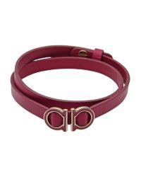 Ferragamo - Purple Bracelet - Lyst