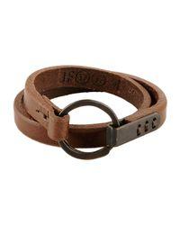 Johnny Farah | Brown Bracelet | Lyst