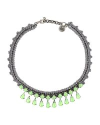 Venessa Arizaga | Gray Necklace | Lyst