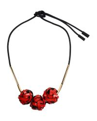 Marni - Red Necklace - Lyst