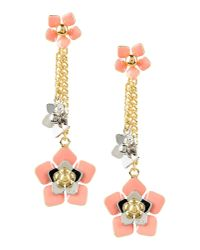 Fendi | Pink Earrings | Lyst