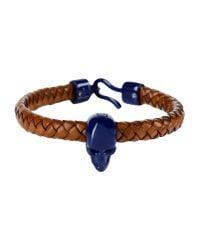 Alexander McQueen - Blue Bracelet - Lyst