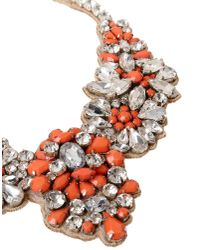 Valentino - Orange Necklace - Lyst