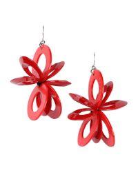 Marni   Red Earrings   Lyst