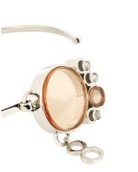 Dior - Metallic Necklace - Lyst