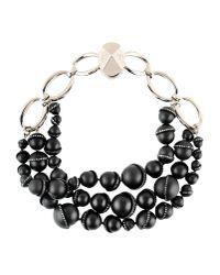Dior | Black Necklace | Lyst