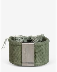 Maison Margiela - Green Bracelet for Men - Lyst