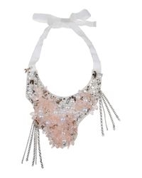 Patrizia Pepe | Pink Necklace | Lyst