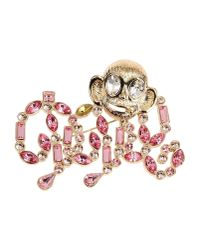 DSquared² - Pink Brooch - Lyst