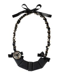 Marni - Black Necklace - Lyst