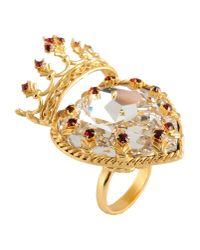Dolce & Gabbana   Metallic Ring   Lyst
