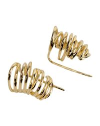 Elizabeth and James - Metallic Earrings - Lyst