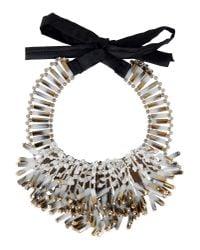 Night Market - White Necklace - Lyst