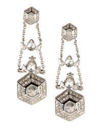 Roberto Cavalli | Metallic Earrings | Lyst
