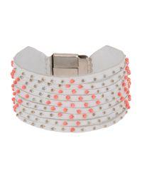 Liu Jo - White Bracelet - Lyst