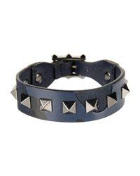 Valentino - Blue Bracelet for Men - Lyst