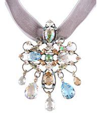 Lanvin - Multicolor Necklace - Lyst