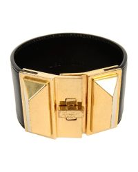 Saint Laurent - Black Bracelet - Lyst