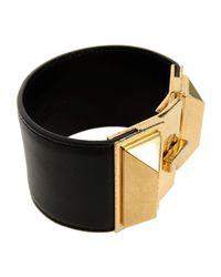 Saint Laurent - Black Bracelet - Lyst