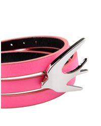 McQ Alexander McQueen - Pink Bracelet - Lyst