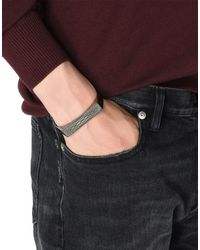 Maison Margiela - Metallic Bracelet for Men - Lyst
