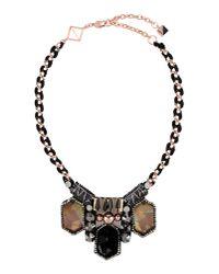 Nocturne - Black Necklace - Lyst
