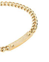 Michael Kors - Metallic Necklace - Lyst