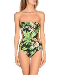 Mila Zb - Black One-piece Swimsuit - Lyst