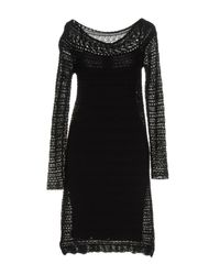 Liu Jo   Black Short Dress   Lyst