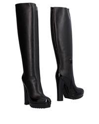 Bottega Veneta - Black Boots - Lyst