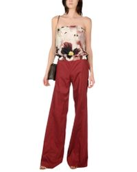 Pianurastudio - Red Jumpsuit - Lyst