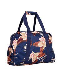 Roxy - Blue Travel & Duffel Bag - Lyst
