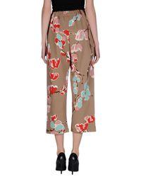 Erika Cavallini Semi Couture - Multicolor Casual Pants - Lyst