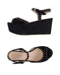 Twin Set - Black Sandals - Lyst