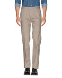 Grey Daniele Alessandrini - Gray Casual Pants for Men - Lyst