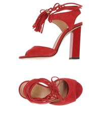 Space Style Concept - Red Sandals - Lyst