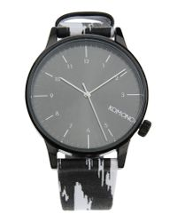 Komono - Gray Wrist Watch for Men - Lyst